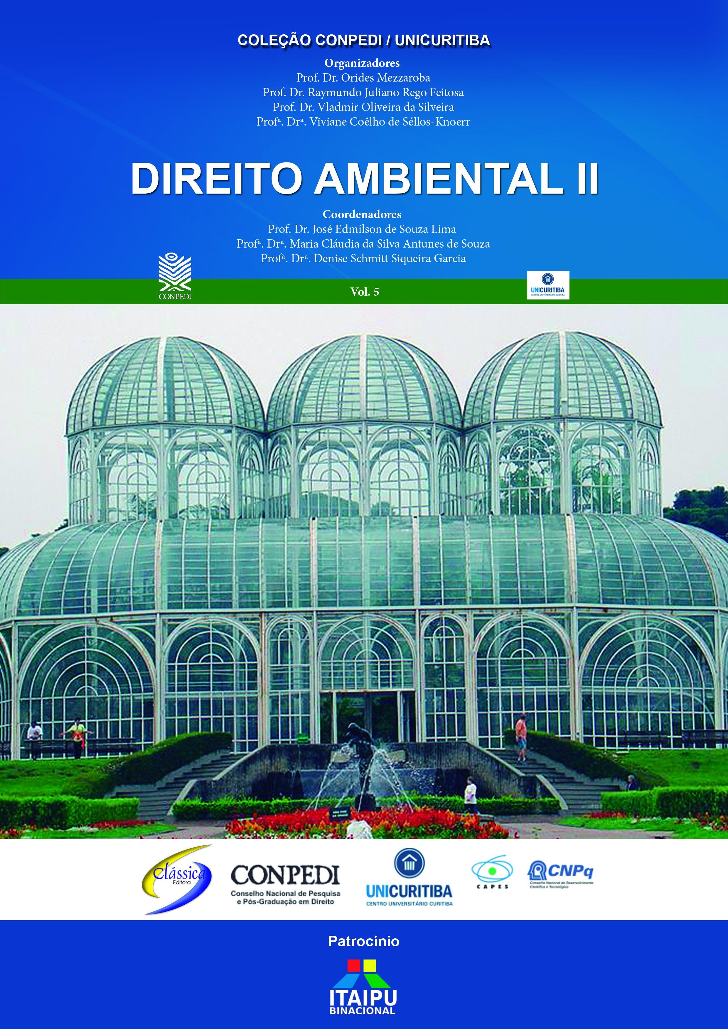 Direito Ambiental 2 vol. 05