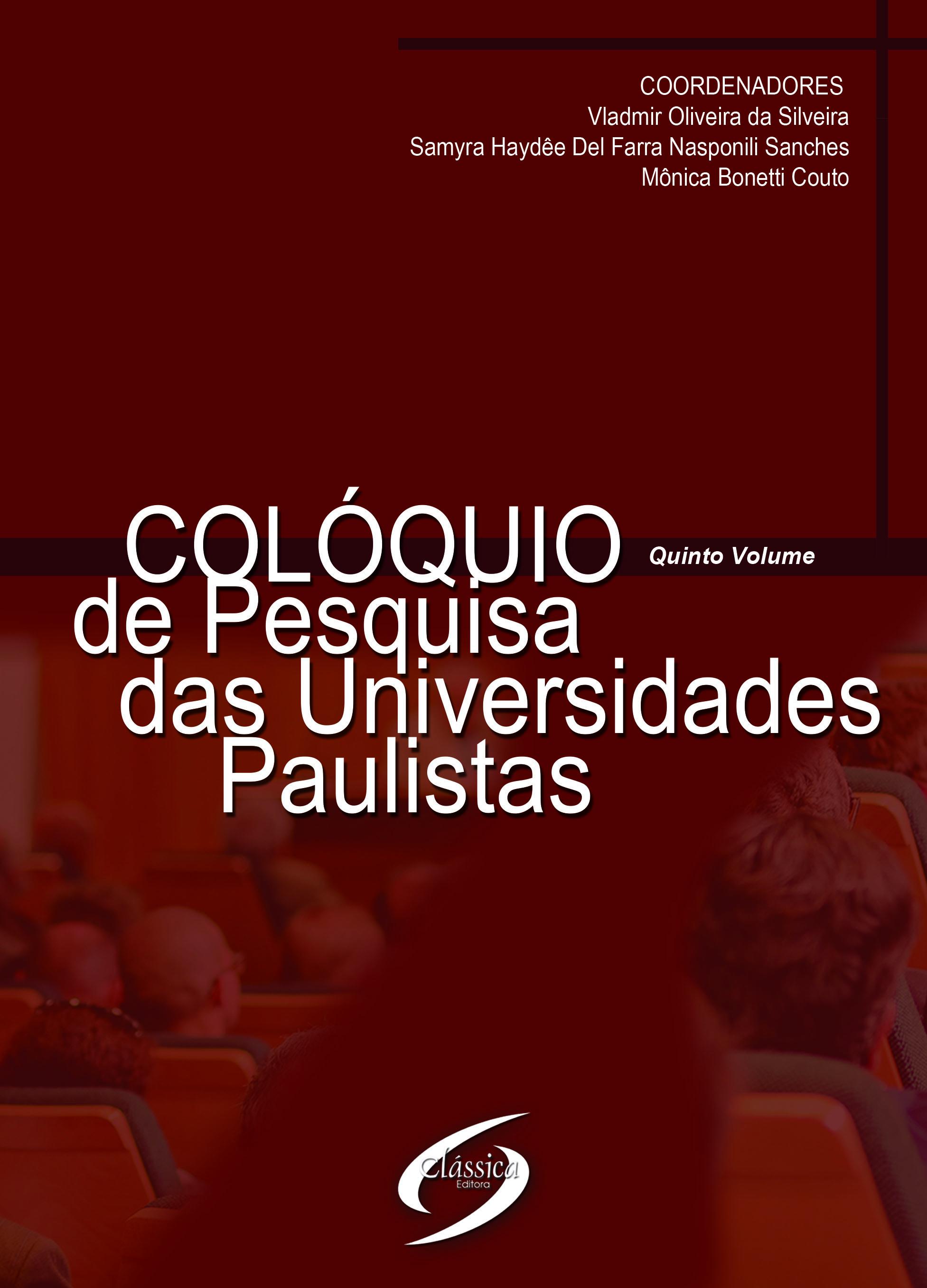 Colóquio de Pesquisa das Universidades Paulistas
